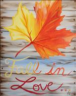 Coffee & Canvas Fall In Love With Autumn
