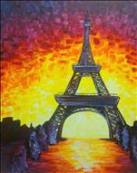Vibrant Paris *24x36 Canvas*