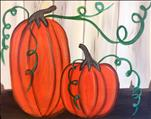 **NEW ART** - Pumpkins on the Porch