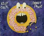 *Cookies and Canvas* Donut Panic