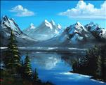 Paint Like Bob! Almighty Mountains (3hr Class)