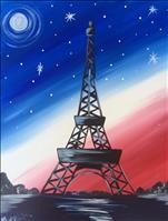 Coffee & Canvas - A Night in Paris