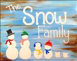The Snow Family (Customize To Your Family)