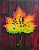 Fall in Love | Canvas Option