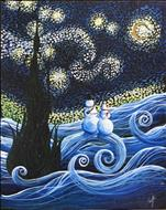 *$10 Off* Snowy Starry Night