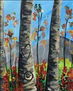 Graffiti Aspen in Fall