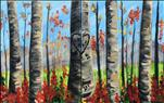 Graffiti Aspens in Fall - COUPLES OPTION!