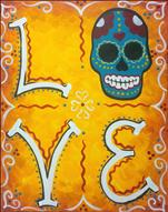 Sugar Skull Love-Lovin' the Halloween Vibe! 18+