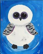 Family Fun!  Winter Snowy Owl!