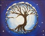 COFFEE and CANVAS - Tree of Life in Winter