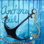 PUBLIC Class-Anchored Love Single Canvas Customize