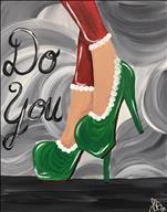 Xmas Do You Custom Color Heels