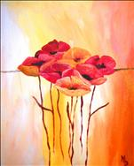 COFFEE & CANVAS: Courtney's Poppies