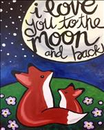 Love You to the Moon and Back *Large Canvas*