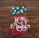 Rustic Christmas Stocking-Customize YOURS! 13+