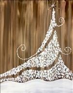 Rustic Twinkly Christmas Tree