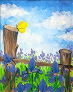 Coffee & Canvas - Rustic Irises