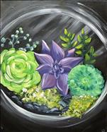 New Art! Succulent Garden