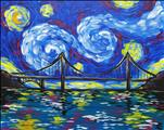 Starry Night Over the Golden Gate