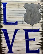 Dickson County COPS Fundraiser - Rustic Blue Love