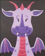 Let's Paint a Dragon! **KIDS CLASS**