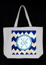 NEW CANVAS TOTE BAG! - Boho-Chic Monogram