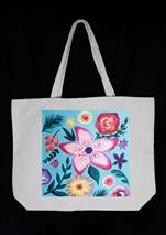Tropical Flower Power - Tote