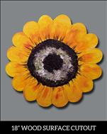 Cheery Sunflower Cutout-All Ages $25.00