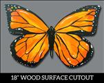 *PUBLIC*  Monarch Butterfly (wood cutout)
