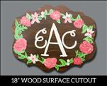 Wood workshop: Rustic Floral Monogram