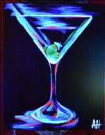**YOUR CHOICE!** Neon Martini