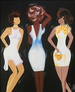 Girlfriends White Party - Sip and Paint