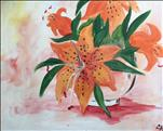 Spring Tiger Lilies