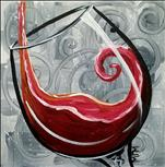 PUBLIC PARTY Swirly Wine - Red