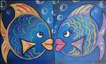 Bubble Fish - S*E*T!-Family 2-canvas FUN! 6+